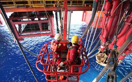Hoạt động thăm dò dầu của Trung Quốc từ giàn khoan Hải Dương 981