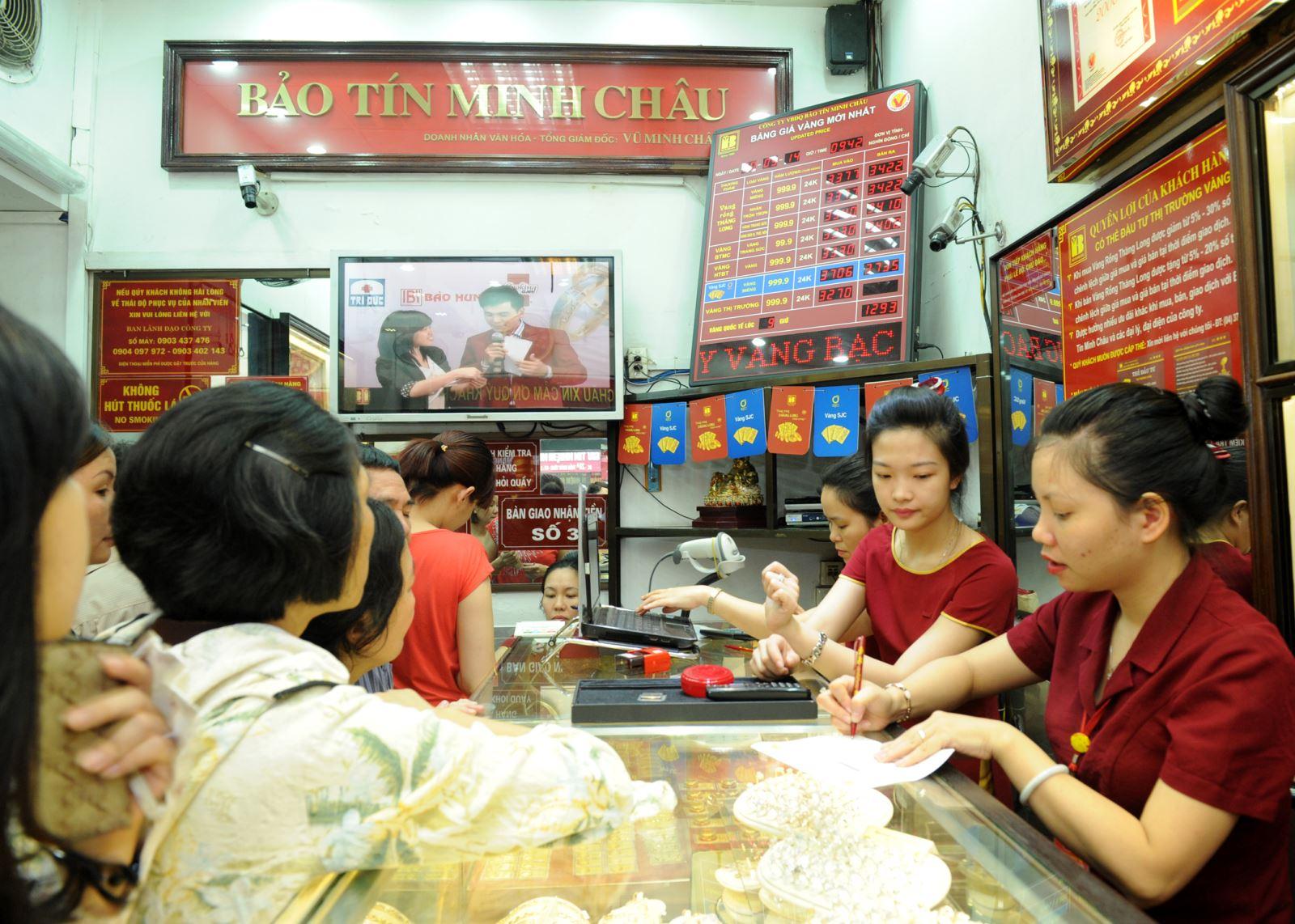 Giá vàng Bảo Tín Minh Châu ngày hôm nay| Gia vang BTMC hôm nay