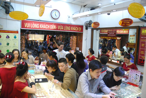 Giá vàng Bảo Tín Minh Châu ngày 27/11/2014