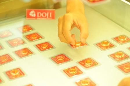 Giá vàng SJC sáng 3/7/2014 giảm, chênh lệch gần 3 triệu đồng/lượng