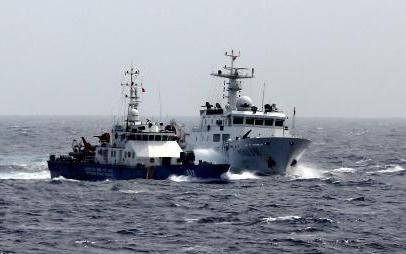 Tình hình biển đông ngày 10/7/2014: Tàu chiến TQ áp sát tàu thực thi pháp luật của VN