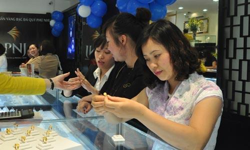 Giá vàng SJC tại PNJ ngày 07/12/2015 | Gia vang sang nay tai HCM Da Nang