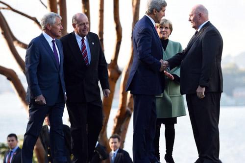 Các quan chức Mỹ và Úc thông báo về thỏa thuận hợp tác quân sự mới