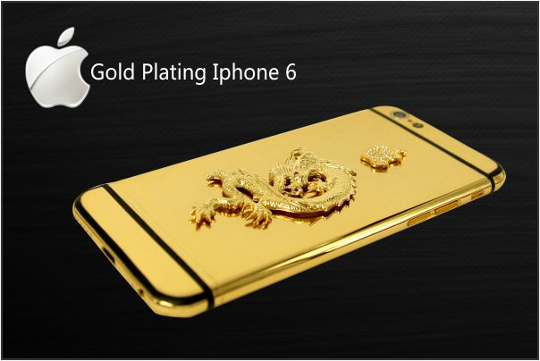 iPhone 6 Gold, gold plating iphone 6