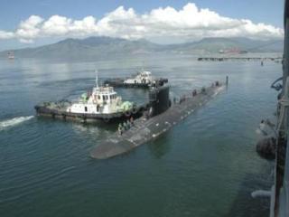 Ảnh minh họa một tàu ngầm của Mỹ - Ảnh: Reuters