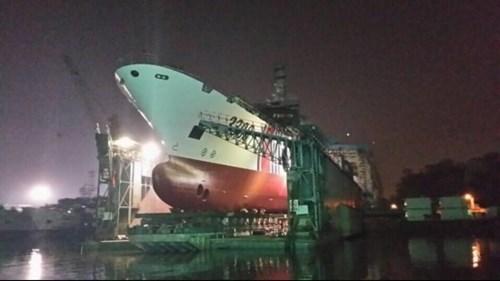 Tàu Hải cảnh-3308 Trung Quốc sắp hạ thủy, sẽ triển khai ở Biển Đông (nguồn báo Hoàn Cầu, TQ)