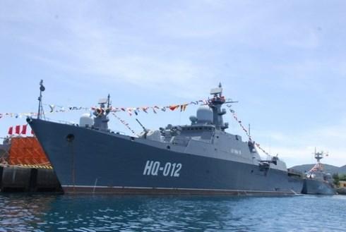 Tàu hộ vệ hạng nhẹ tàng hình lớp Gepard của Hải quân Việt Nam, mua của Nga (ảnh minh họa)