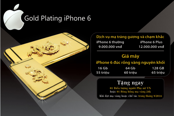 iPhone 6 ma vang