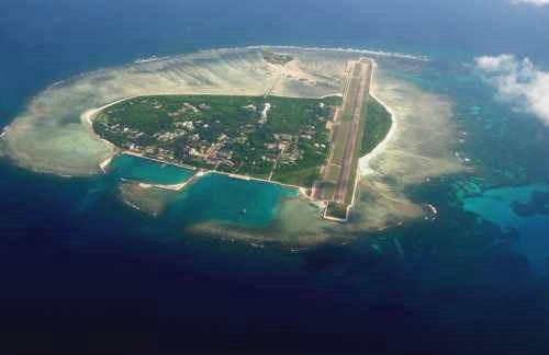 Đảo Phú Lâm thuộc quần đảo Hoàng Sa của Việt Nam