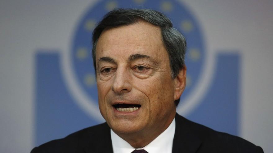 Chủ tịch Ngân hàng Trung ương châu Âu (ECB) Mario Draghi - Ảnh: Reuters