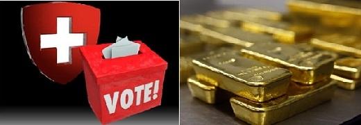 """Sáng kiến """"Save Our Gold"""" của Thụy Sĩ thất bại, vàng lại lao dốc"""