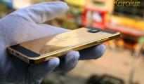 Karalux giới thiệu điện thoại Samsung Galaxy A5 mạ vàng