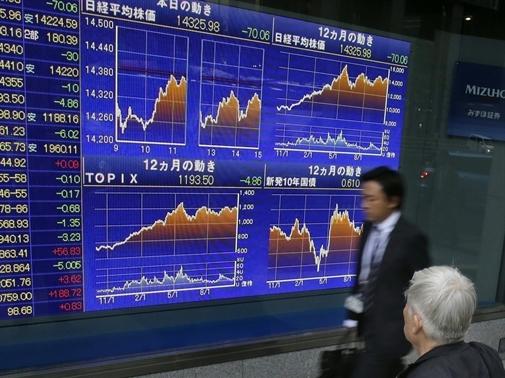 Chứng khoán Châu Á tăng điểm do giá dầu thô được tăng cường