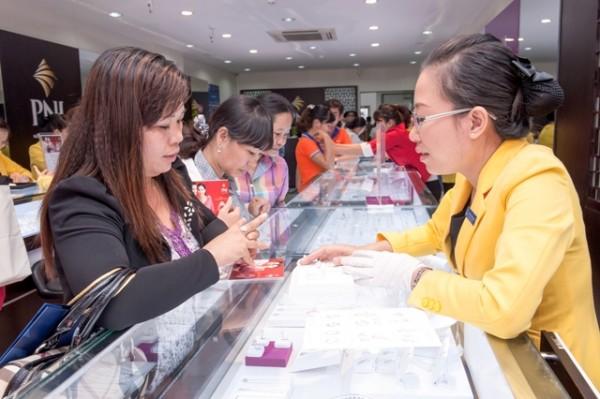 Giá vàng SJC tại PNJ ngày 24/03/2016   Gia vang sang nay tai HCM va Da Nang