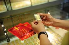 Giá vàng SJC sáng 06/04 giảm 10.000 đồng/lượng so với chốt phiên hôm qua