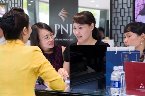 Giá vàng SJC tại PNJ hôm nay