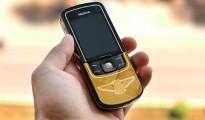 Nokia Luna 8600 mạ vàng 24K mới lạ tại Việt Nam
