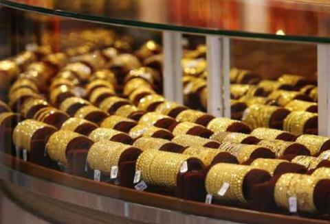 Mức tăng trưởng giá vàng bị sụt giảm