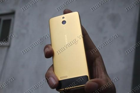 Nokia mạ vàng 24K, điện thoại NOkia 515 mạ vàng