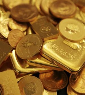 Giá vàng thế giới 21/1/2014 bất ngờ giảm xuống từ mức cao trong 6 tuần qua