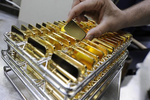 Giá vàng thế giới cuối tuần giảm trở lại gần mức thấp nhất trong vòng 6 năm qua
